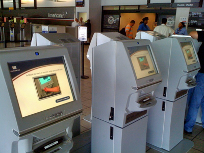Us airways check in kiosk