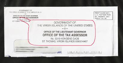Us Virgin Islands Property Tax Rate