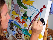 Annie Caswell, St, John Artist