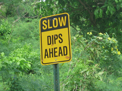 Silly Signs Slow Dips 2016 St John Usvi Us Virgin
